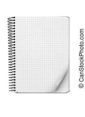 notatnik, spirala
