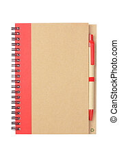 Note book and Pen