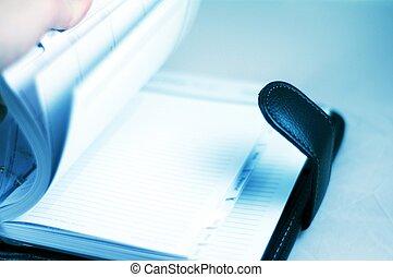 Note Book - Browsing Note Book - Calendar / Scheduler....