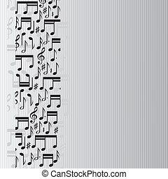 note, musica, fondo
