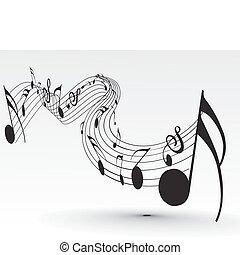 note musica
