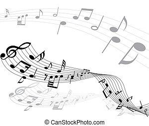 note musicali