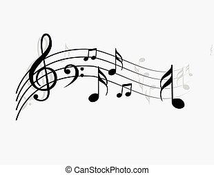 note, musique