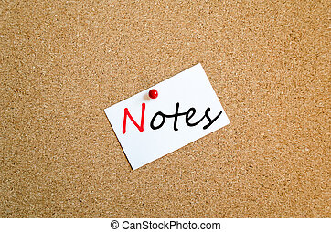 note, notes, concept, collant
