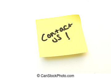 note, nous contacter