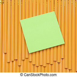 Note Pad on Pencils