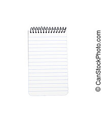 Note pad - Spiral note pad