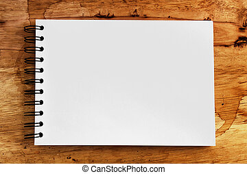 note paper on wood texture background with copy space