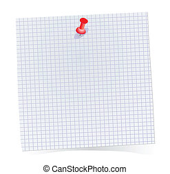 note paper - Vector note paper