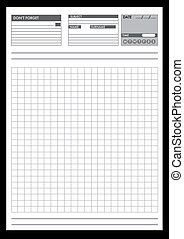 Note papers for your organization