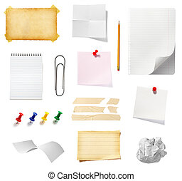 note reminder business office supplies - collection of...