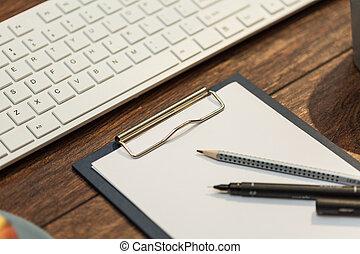 note, scrivania