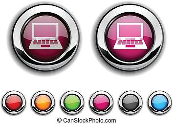 Notebook button.