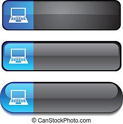 Notebook  button set.