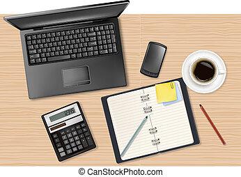 office supplies - Notebook, calculator and office supplies ...