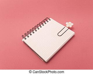 Notebook clip