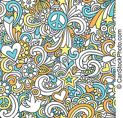 Notebook Doodles Seamless Pattern - Seamless Pattern...