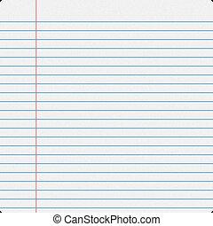 Notebook Filler Paper - Blank notebook filler paper ...
