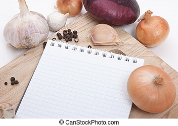 notebook for culinary recipes