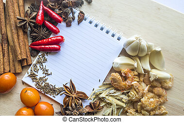 notebook for recipes