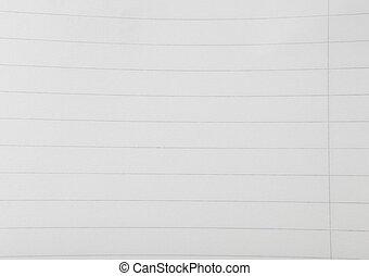 Notebook Lined Paper Sheet