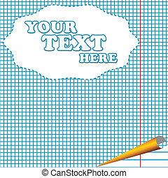 Notebook sheet