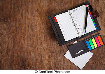 Notebook with Blank sheet of paper