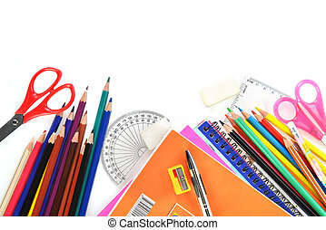 school supplies  - notebooks and other  school supplies