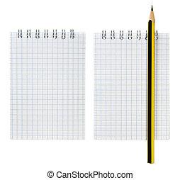 Notepad and Pencil Set