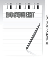 notepad document