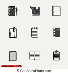 Notepad Icons set