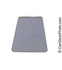 Notepad. On a white background.
