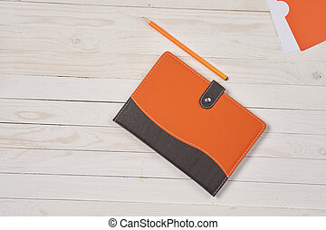 Notepad pen writing desk stationery accessories