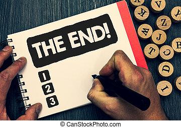notepad., photo, puzzle, idée, fin, papier, quelque chose, créatif, fin, écriture, note, call., conclusion, vie, objet, business, projection, motivation, pensées, inspiration, agréable, temps, showcasing