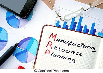 MRP manufacturing resource planning