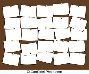 Notes Board for easy use and populate with your thoughts