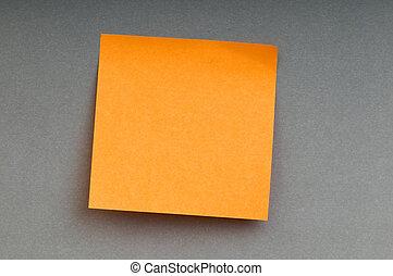 notes, papier, clair, coloré, rappel