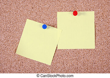 notes, papier