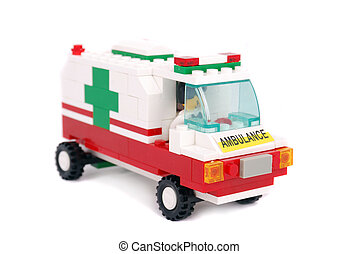 notfall, krankenwagen, auto
