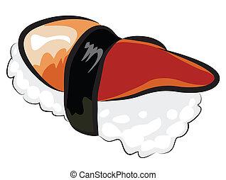 nothern, concha, sushi
