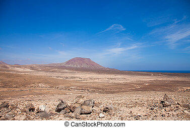 Nothern Fuerteventura, Montana Roja (Red mountain)