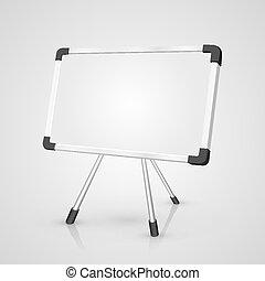 Notice Board. Vector