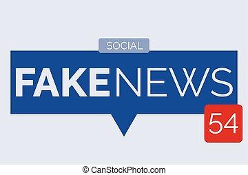 noticias, burbuja del discurso, falsificación