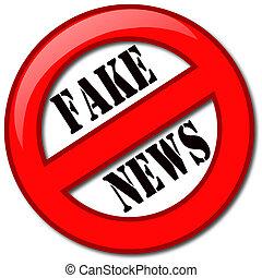 noticias, falsificación