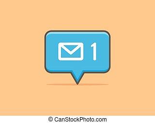 notification, message