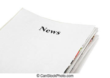 notizie, giornali, pila
