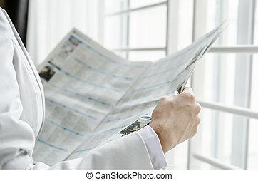 notizie, lettura, affari