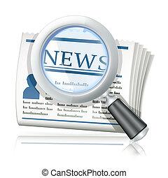 notizie, ricerca