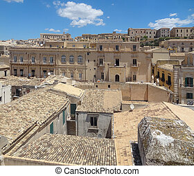 Noto in Sicily - city named Noto located in the Province of ...