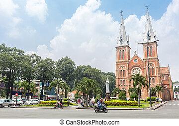 Notre-Dame Cathedral Viatnam - Saigon Notre-Dame Cathedral...